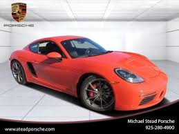 Cars for Sale: <b>New 2017</b> Porsche 718 Cayman S for sale in Walnut ...