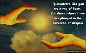 Thank You Messages for Volunteers: Appreciation Quotes ... via Relatably.com