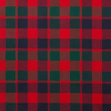 Buy <b>Gow</b> Modern Lightweight Scottish Tartan Fabric Material
