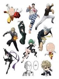 """<b>Набор стикеров</b> """"<b>One</b> Punch Man"""" - Аксессуары купить в аниме ..."""