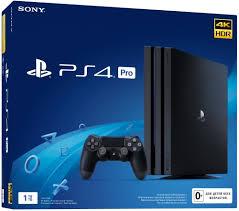 <b>Playstation 4 Pro 1TB</b> Black (CUH-7208B): купить игровую консоль ...