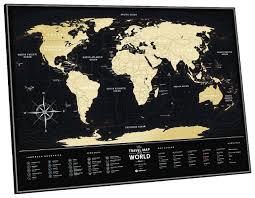<b>1DEA</b>.<b>me Скретч Карта Мира</b> Black <b>World</b> — купить по выгодной ...