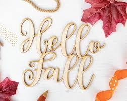 <b>Hello fall</b> | Etsy