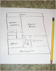 Draw Your Own House Plans   The New York Timesplans Alison    s floorplan sketch