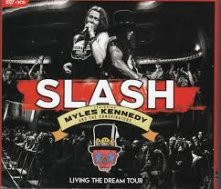 <b>Slash</b> featuring Myles Kennedy and The Conspirators - <b>Living The</b> ...