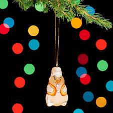 Купить <b>Елочная игрушка</b> селенит Россия снеговик 7 см Доставка ...