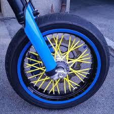 MOTO <b>72pcs</b> a set 24cm Motocross Dirt <b>Bike</b> Enduro <b>Wheel RIM</b> ...