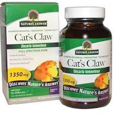 Nature's Answer, <b>Cat's Claw</b>, <b>1350 mg</b>, 90 Vegetarian Capsules ...