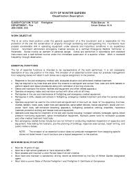 firefighter paramedic resume examples eager world it