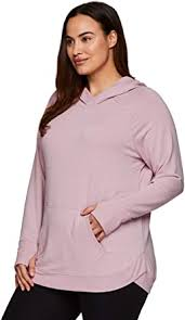 RBX Active Women's Plus Size Fashion French Terry Long Sleeve ...