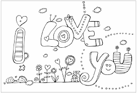 Small Picture I Love You Coloring Pages Disney Coloring Pages