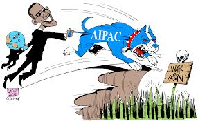 Image result for AIPAC CARTOON