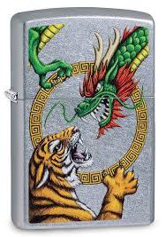 Заказать <b>Зажигалка ZIPPO Dragon Design</b> с покрытием Street ...