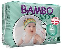 "<b>Bambo Nature Подгузники</b> детские одноразовые ""Mini"", 3-6 кг, 30 ..."
