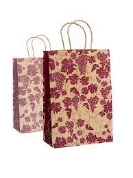 """Набор из 2шт, <b>пакет подарочный</b> крафт """"виноградная лоза"""" 22 ..."""