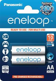 "Аккумулятор <b>Panasonic</b> ""Eneloop"", тип АА, 1900 mAh, 2 шт ..."