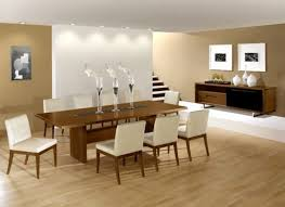 oval dining table room design