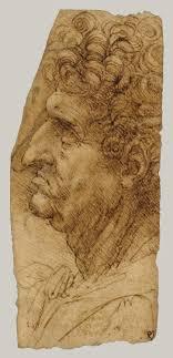 leonardo da vinci 1452 1519 essay heilbrunn timeline of art head of a man in profile facing to the left