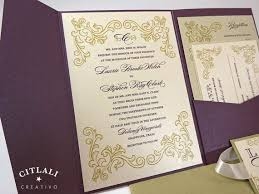 best 25 plum wedding invitations ideas only on pinterest Purple Gold Wedding Invitations elegant plum & gold wedding invitations plum pocket by citlali cheap purple and gold wedding invitations