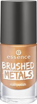 essence. <b>Лак для ногтей</b> - <b>brushed</b> metals nail polish, золотой, т.03 ...