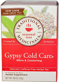 16 CT <b>Gypsy Cold</b> Care Pack of 2 Traditional Medicinals <b>Seasonal</b> ...