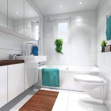 white bathroom floor: image of small bathroom floor mats
