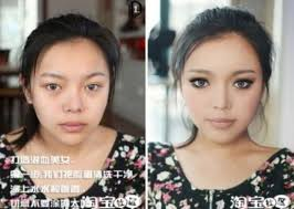 you will see the magic of makeup and the ability of asian people have in transform any person