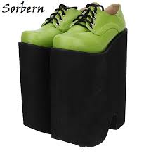 sorbern white and gold heels women sandals high heel platform shoes flowers 2018 on sale plus size