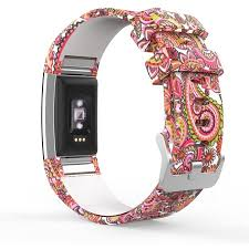 Fitbit Charge 2 <b>Christmas Band</b>, MoKo Soft <b>Silicone</b> Adjustable ...