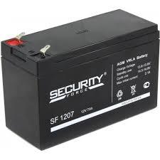 <b>Аккумулятор Security Force</b> SF 1207 (12V, 7Ah)