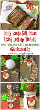 dirty santa lottery tickets the perfect gift easy peasy pleasy use lottery tickets to give the best dirty santa gifts grab some printable gift