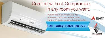 Mitsubishi Ductless Mitsubishi Ductless Heating And Air Conditioning Systems Las Vegas