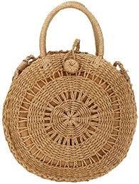 <b>Straw</b> Crossbody <b>Bag</b> Women Weave Shoulder <b>Bag Round Summer</b> ...