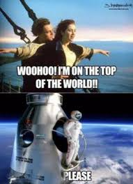 Pictures: Fearless Felix Baumgartner Memes | Metro UK via Relatably.com