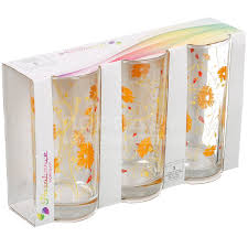 Стакан стеклянный <b>Pasabahce Serenade Orange</b> 42402B/D7 3 шт ...