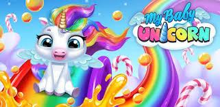 My <b>Baby Unicorn</b> - Virtual Pony Pet Care & Dress Up - Apps on ...