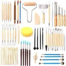 Набор <b>инструментов</b> из керамической глины, 61 шт ...