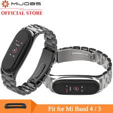<b>Mijobs</b> Mi Band 4 Wrist Strap for Xiaomi <b>Mi Band 3</b> 4 Smart Watch ...