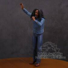 bob marley music legends jamaica singer microphone pvc action figure collectible model toy 18cm