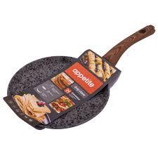 <b>Сковорода</b> для блинов <b>Appetite</b> Grey Stone 24 см — купить в ...