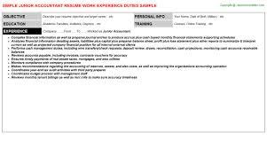 junior accountant resume examples jk payroll accountant junior junior accountant resume