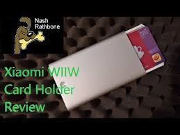 Xiaomi <b>MIIIW MWCH01 Card</b> Holder Review - <b>Business</b> Drafts
