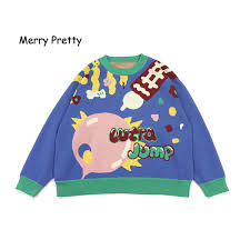 2019 <b>Merry Pretty 2019 Autumn</b> Winter Thick Warm Sweater Women ...