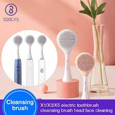 <b>SOOCAS Facial Cleansing</b> Brush Head for Xiaomi Youpin X1 X3 X5 ...