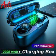 F9 TWS Sport Wireless Bluetooth 5.0 Earphones Battery LED ... - Vova