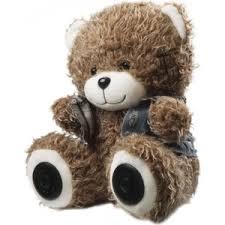 Портативная колонка Ritmix ST-250 Bear BT brown | xn ...