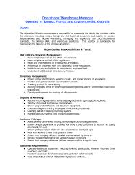 general warehouse resume tk general warehouse resume
