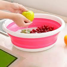 New Creative PP plastic <b>Simple Life</b> Folding Bucket Portable ...