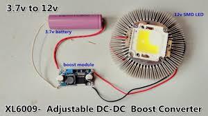XL6009 - Voltage Adjustable DC-<b>DC</b> (<b>5v</b>-<b>35v</b>) Boost Converter Module