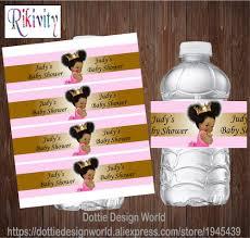 <b>20pcs</b> Personalized Princess Royal Baby Girl Shower Water Bottle ...